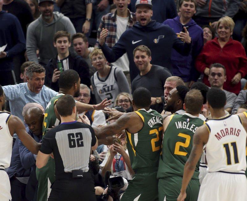 NBA: Ξύλο στο Γιούτα – Ντένβερ! (vid)