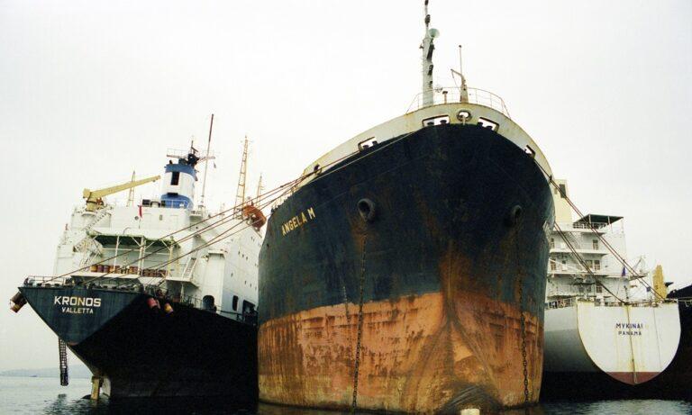 Süddeutsche Zeitung: Ελευσίνα, «νεκροταφείο πλοίων»