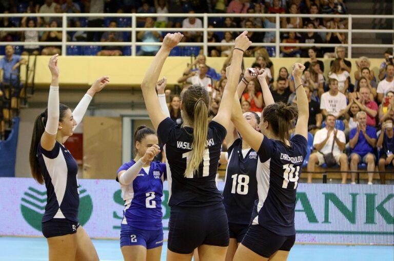 Ευρωπαϊκό πρωτάθλημα βόλεϊ: Σε ζόρικο όμιλο η Εθνική γυναικών