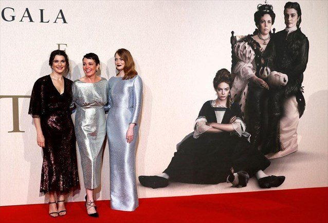 «The Favourite»: Τέσσερα βραβεία από την Ένωση Κριτικών Λονδίνου για την ταινία του Γ. Λάνθιμου