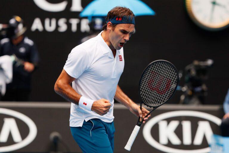 Australian Open: Ζορίστηκε, αλλά πέρασε ο Φέντερερ
