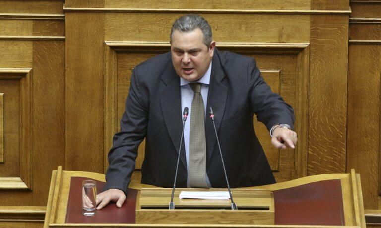 Συφωνία Πρεσπών: Σε μαζικές παραιτήσεις βουλευτών καλεί ο Καμμένος