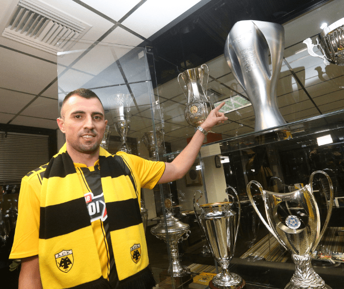 Κρστίτσιτς: «Έπρεπε να έρθω από το καλοκαίρι στην ΑΕΚ»