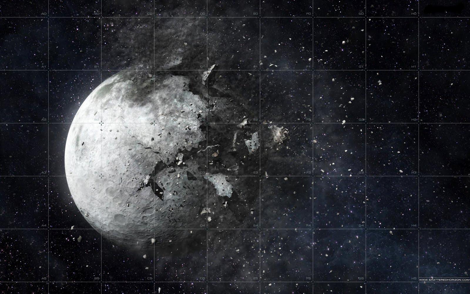 Τι θα συνέβαινε αν η Σελήνη εκρήγνυτο ξαφνικά; (vid)