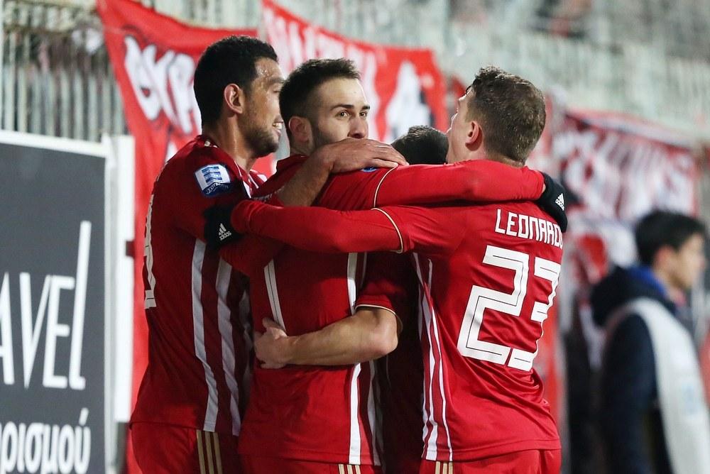Αστέρας Τρίπολης-Ολυμπιακός 0-2: Τρίτωσε το καλό στην επαρχία!