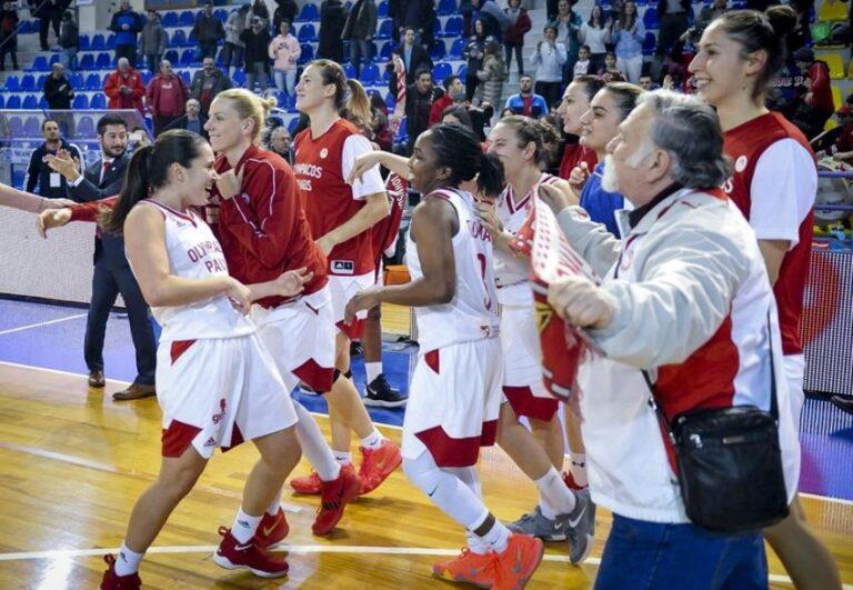 Euroleague Γυναικών: Ιστορική νίκη ο Ολυμπιακός