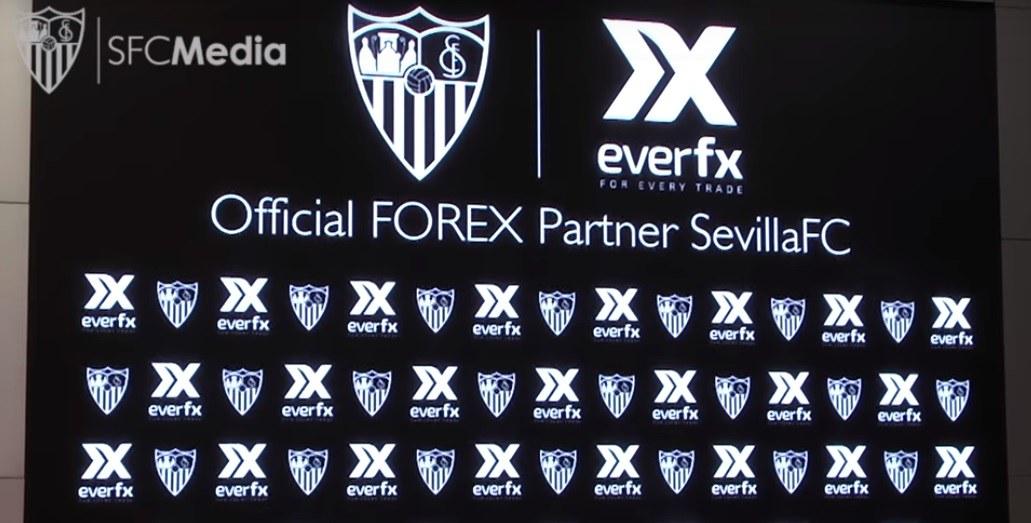 H κυπριακή EverFX ένας από τους κύριους σπόνσορες της Sevilla FC