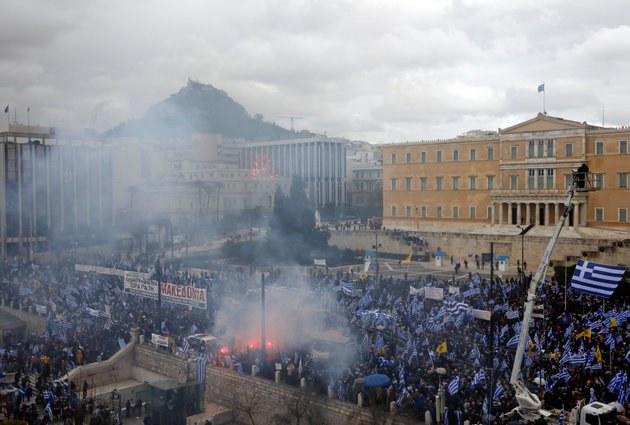 Ο ξένος Τύπος για το συλλαλητήριο κατά της συμφωνίας των Πρεσπών