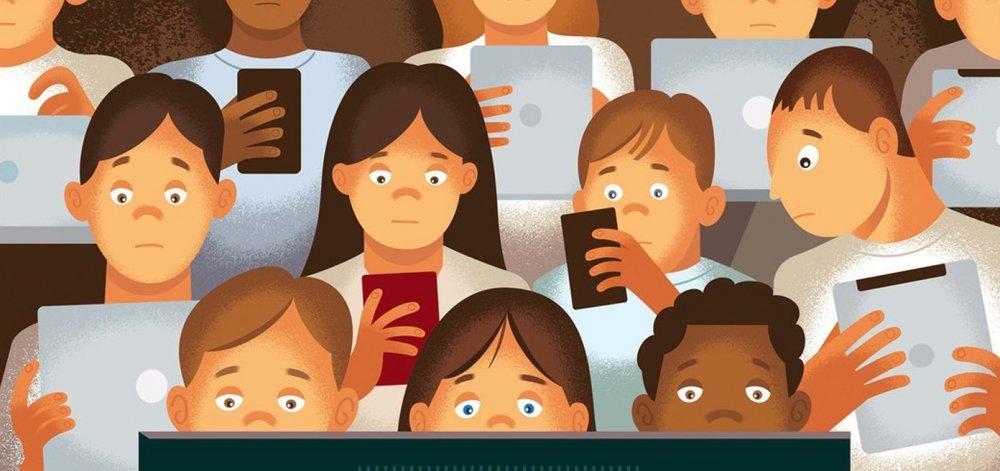 Οι οθόνες βλάπτουν την ψυχική υγεία των εφήβων όσο και οι…πατάτες!