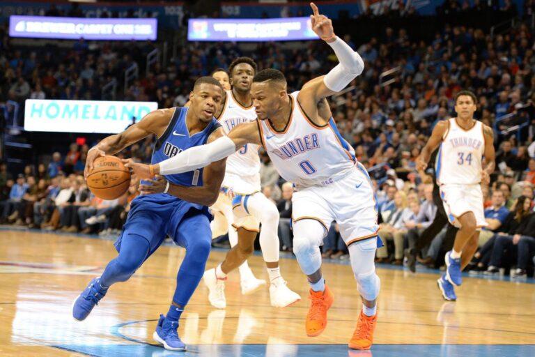NBA: Με τρομερό Γουέστμπρουκ η Οκλαχόμα «πάτησε» τους Μάβερικς(vid)