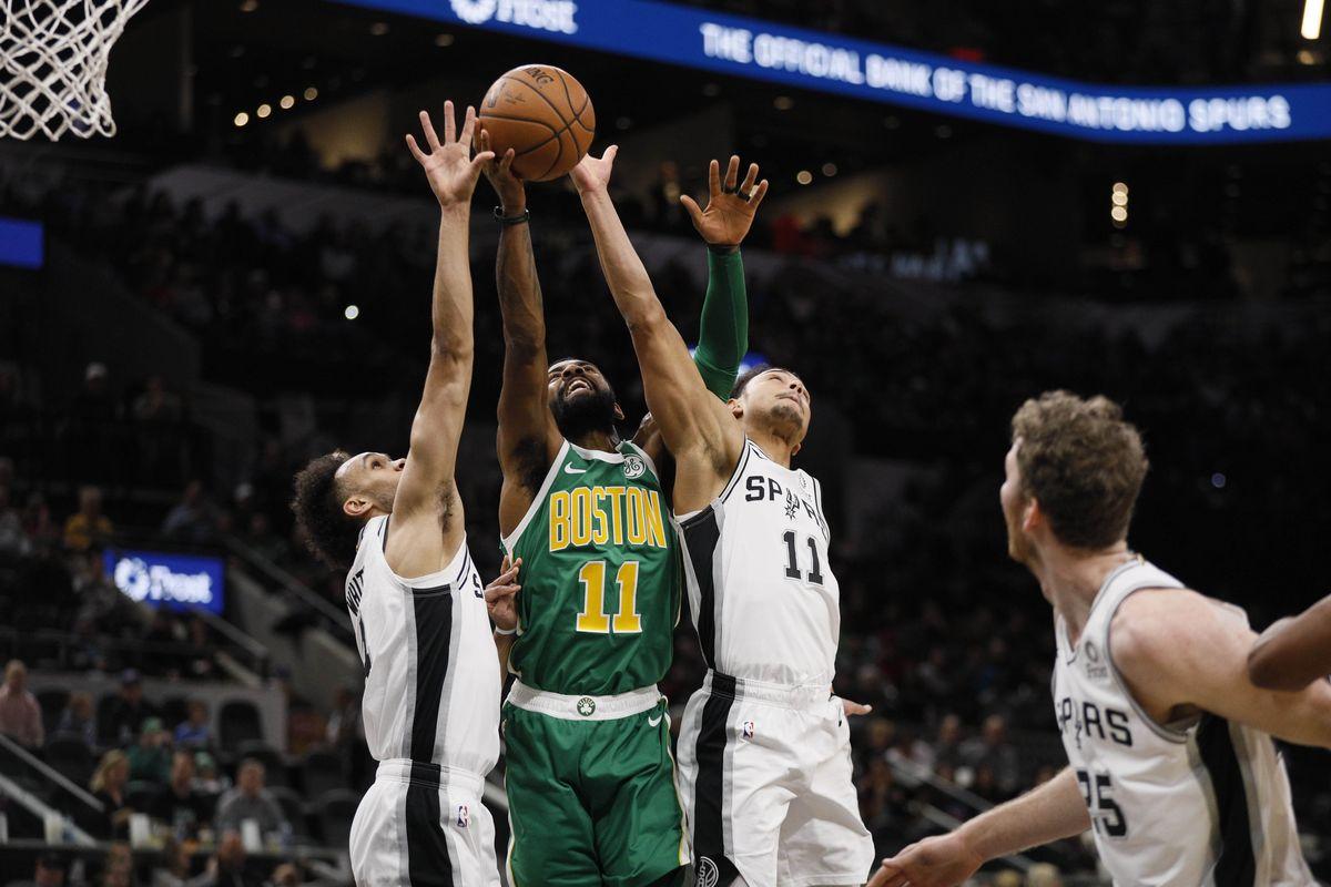NBA: Εκπληκτικοί στην 3η περίοδο οι Σπερς και νίκη κόντρα στους Σέλτικς!(vid)