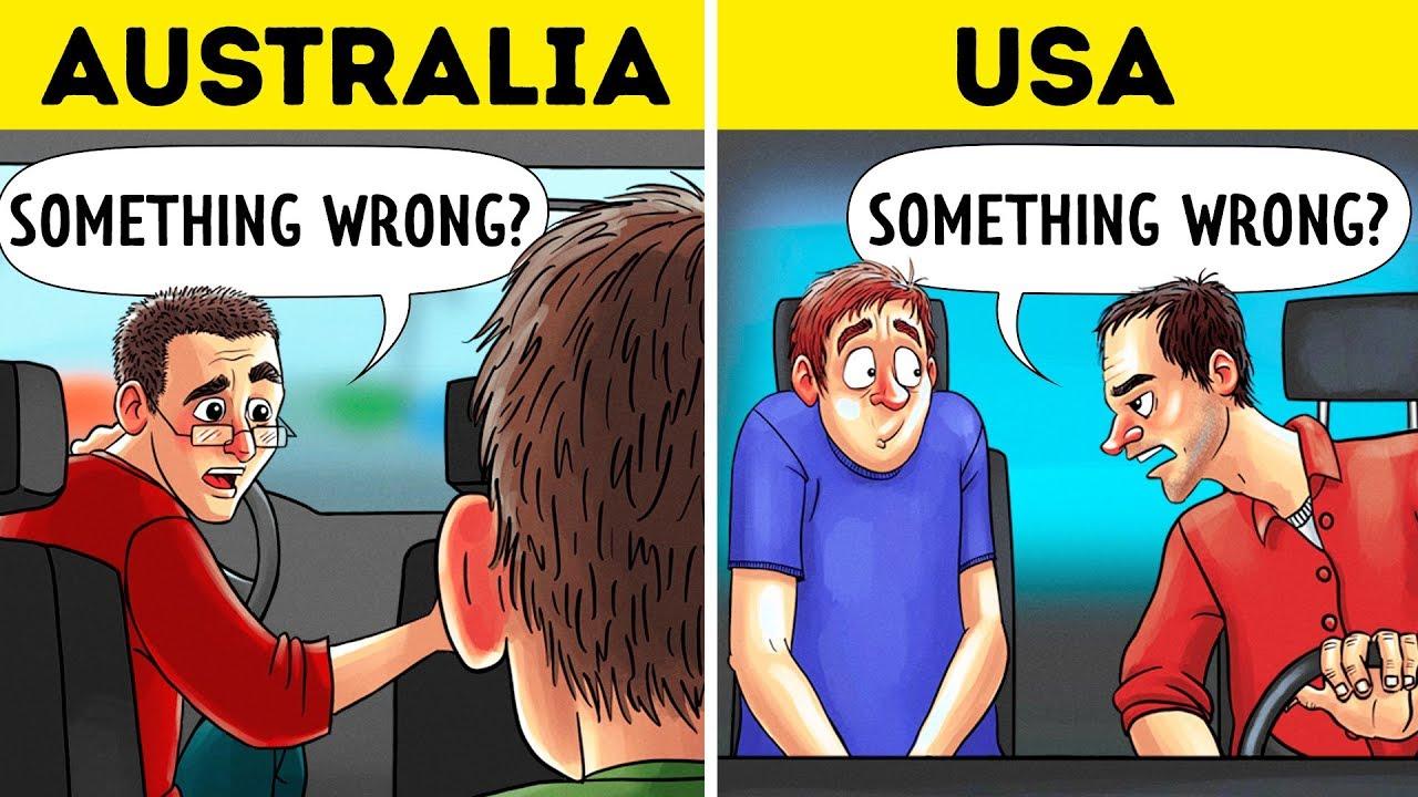 Παράξενες συμπεριφορές που είναι απόλυτα φυσιολογικές σε άλλες χώρες (vid)