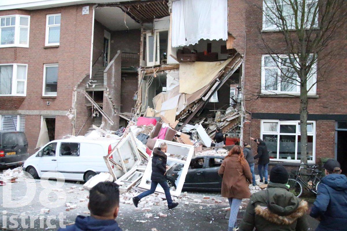 Συναγερμός στην Ολλανδία, έκρηξη στη Χάγη (vid)