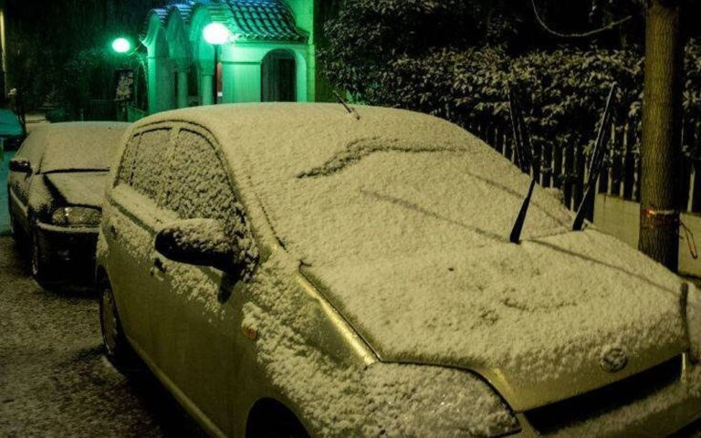 Κακοκαιρία: Έτσι ξύπνησαν οι Αθηναίοι-Χιόνισε σε όλη την Αθήνα (pics)