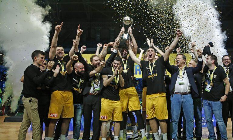 Διηπειρωτικό Κύπελλο: Το «ευχαριστώ» της ΑΕΚ
