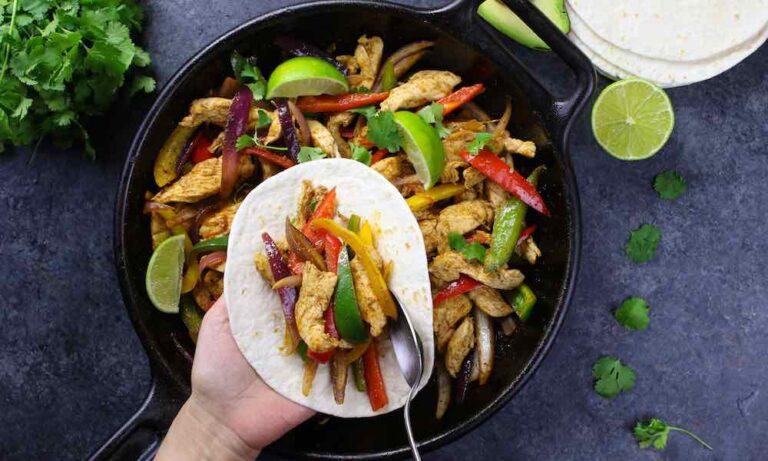 Γίνε σεφ: η συνταγή της ημέρας είναι τα fajitas!