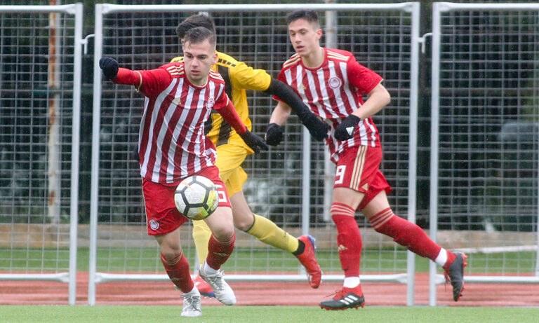 ΑΕΚ-Ολυμπιακός 0-1 Κ15: «Ερυθρόλευκη» νίκη στο Γαλάτσι