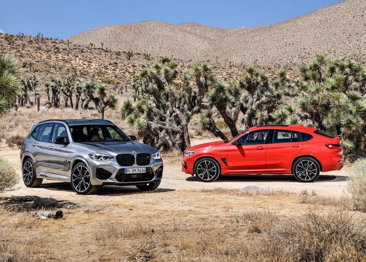 """Έτοιμη για """"πόλεμο"""" η BMW, με τις ολοκαίνουριες X3 M και X4 M"""