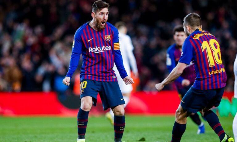 La Liga: Ο Μέσι… πετούσε, αλλά δεν έφτανε στην Μπαρτσελόνα (vid)