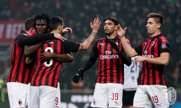 Serie A: Η Μίλαν πάει φουλ για Champions League