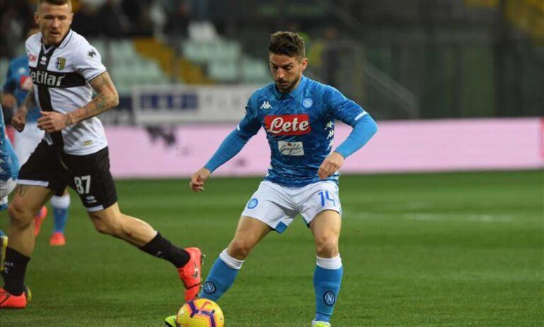 Serie A: Η Νάπολι ξέσπασε στην Πάρμα