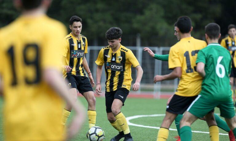 AEK-Παναθηναϊκός 4-1: «Κιτρινόμαυρος» θρίαμβος στη Super League Κ15