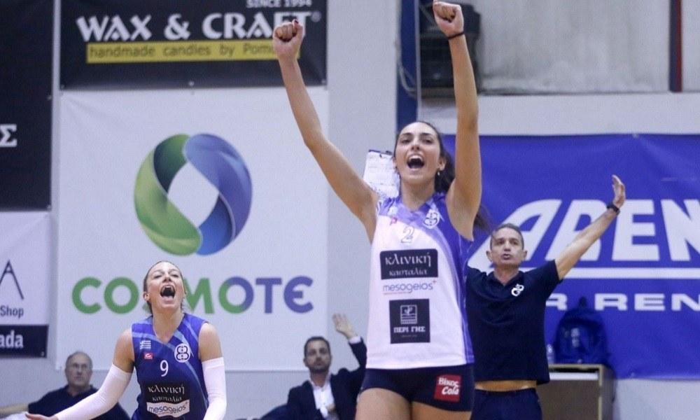 Α1 βόλεϊ γυναικών: MVP η Κωνσταντίνου