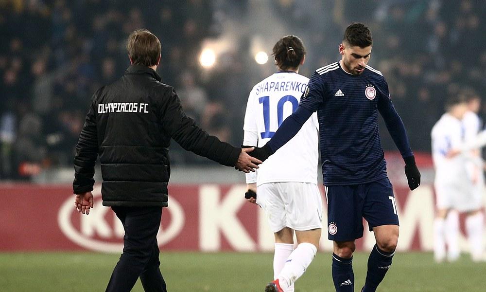 Ντιναμό Κιέβου – Ολυμπιακός 1-0: Δεν την έβαλε στο πλεκτό και αποκλείστηκε…