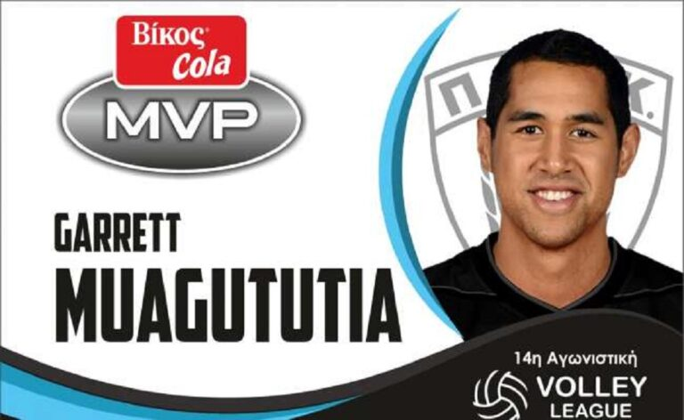 Volley League: Ο Μουαγκουτούτια MVP Βίκος Cola