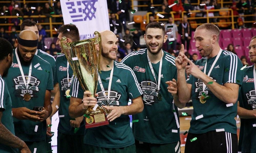 Παναθηναϊκός: Συγχαρητήρια της ΠΑΕ για το Κύπελλο στο μπάσκετ - Sportime.GR