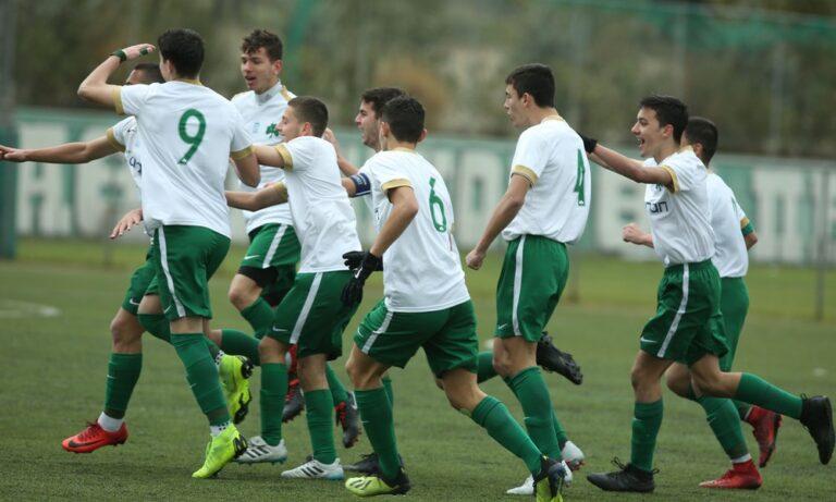Super League Κ17: Παναθηναϊκός-ΑΕΚ 1-0: Στο -1! (photos)
