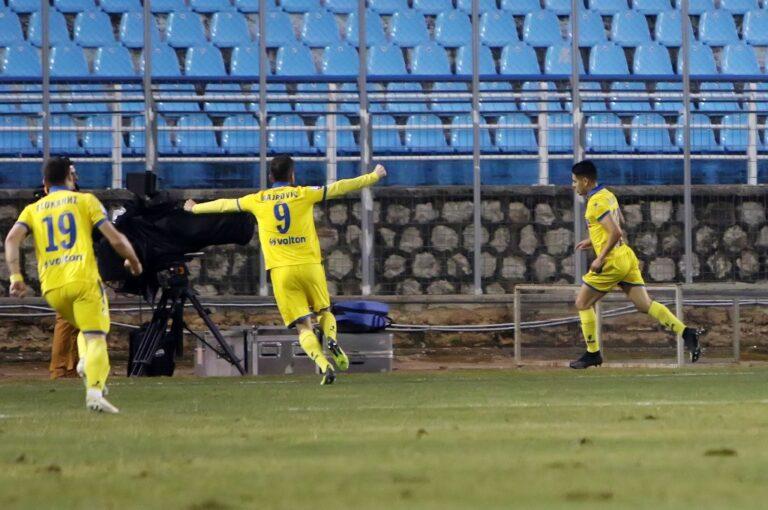Λαμία-Παναιτωλικός 0-2: Με ηγέτη τον Ουίλιαν Μπαρμπόσα