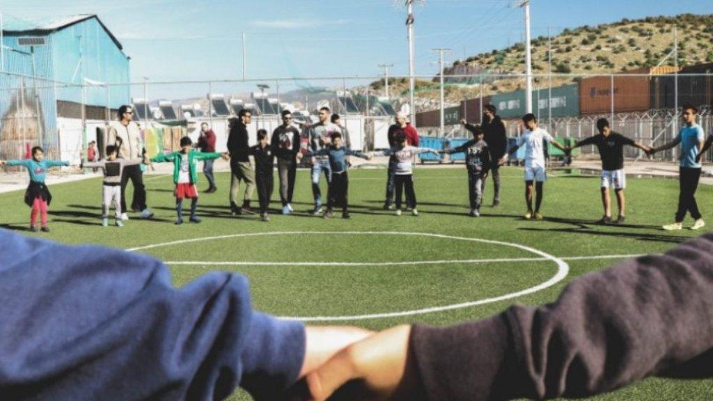 Ο ΠΣΑΠ στο Κέντρο Φιλοξενίας Προσφύγων του Σκαραμαγκά