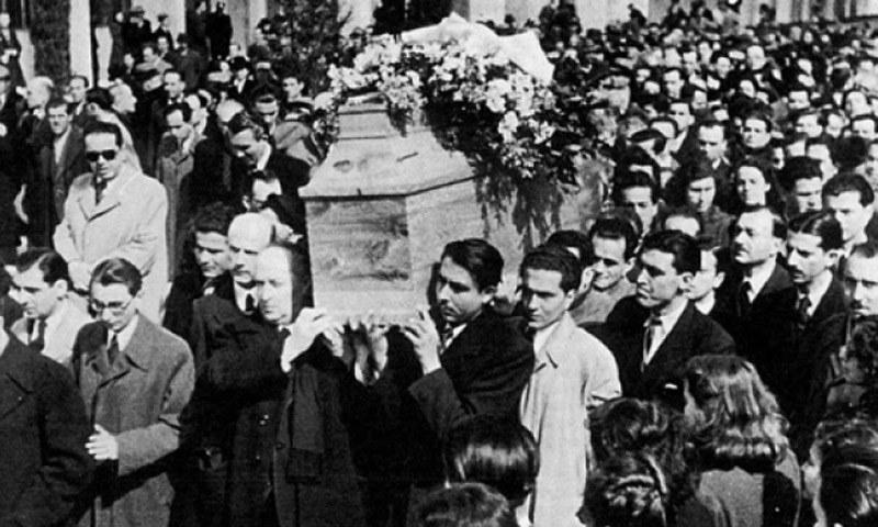 «Ηχήστε οι Σάλπιγγες» – Σαν σήμερα η κηδεία του Κωστή Παλαμά