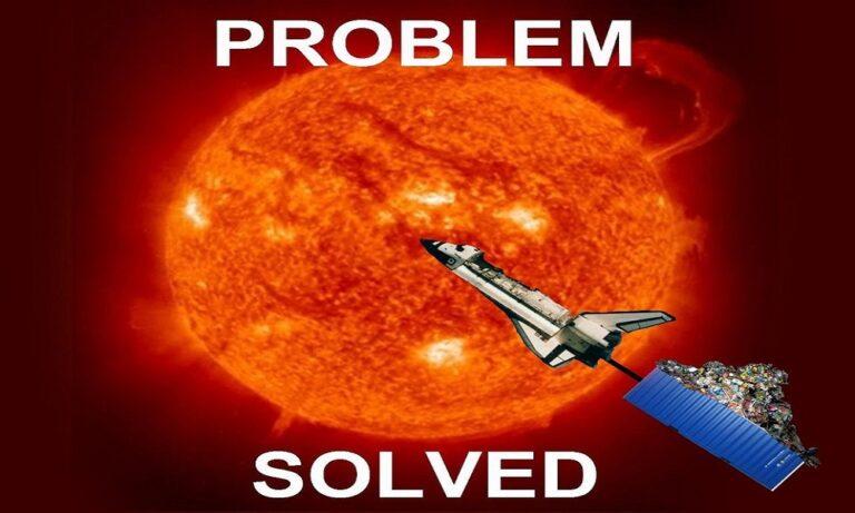 Να γιατί δεν μπορούμε να στείλουμε τα σκουπίδια μας στον 'Ηλιο (vid)
