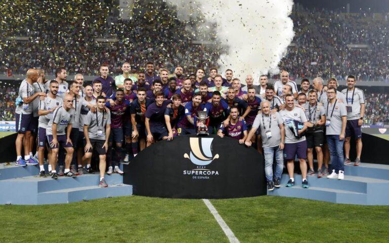 Το ισπανικό Σούπερ Καπ γίνεται διοργάνωση τεσσάρων ομάδων