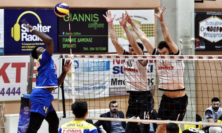 Volley League: Ο Παμβοχαϊκός υπέταξε τον ΠΑΟΚ, σε μπελάδες η ΑΕΚ