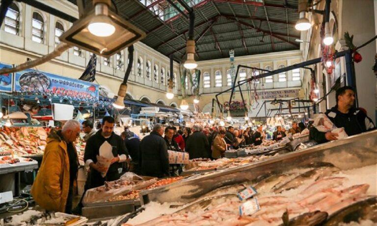 Ανοιχτή η Βαρβάκειος ψαραγορά και η Αγορά του Ρέντη