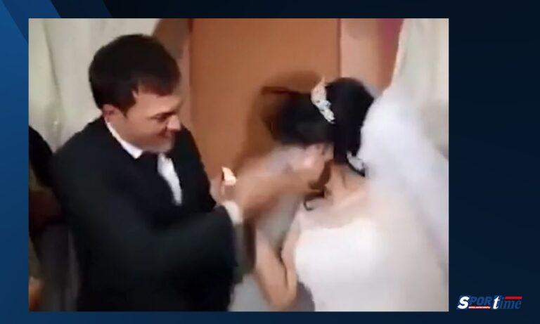 Γαμπρός χαστούκισε τη νύφη στο γάμο – Δείτε γιατί