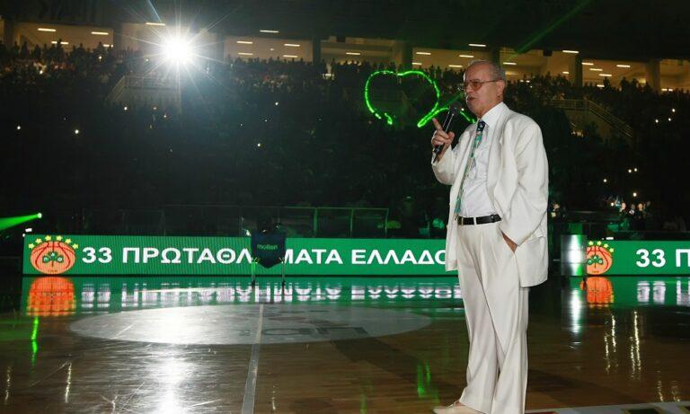 ΚΑΕ ΑΕΚ για Θανάση Γιαννακόπουλο: «Μεγάλη απώλεια για τον αθλητισμό και την κοινωνία»
