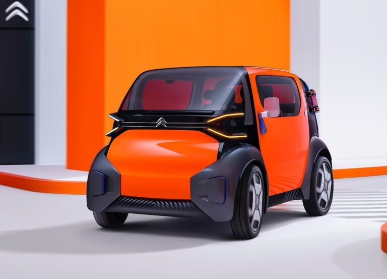 Το Citroën Ami One Concept είναι ο ηλεκτρικός διάδοχος του 2CV