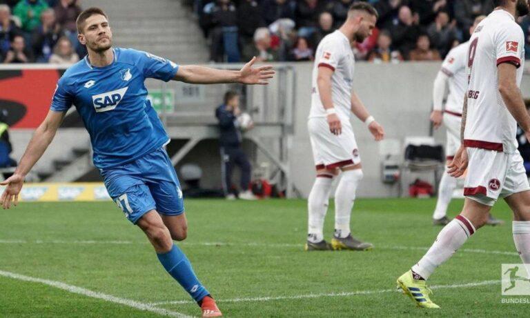 Bundesliga: Νίκησε και ελπίζει η Χόφενχαϊμ