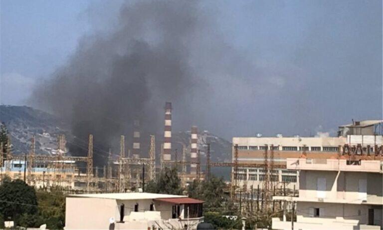Κρήτη: Έκρηξη σε υποσταθμό της ΔΕΗ στο Ηράκλειο
