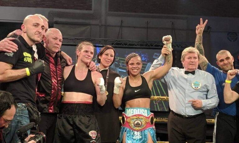 Χριστίνα Λιναρδάτου: Κατέκτησε τον Παγκόσμιο Τίτλο Πυγμαχίας WBO