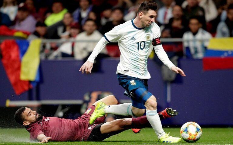 Γύρισε ο Μέσι, αλλά έχασε η Αργεντινή