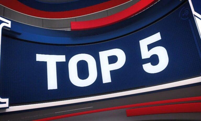 Top-5: Εντυπωσίασε το κάρφωμα του Σιάκαμ