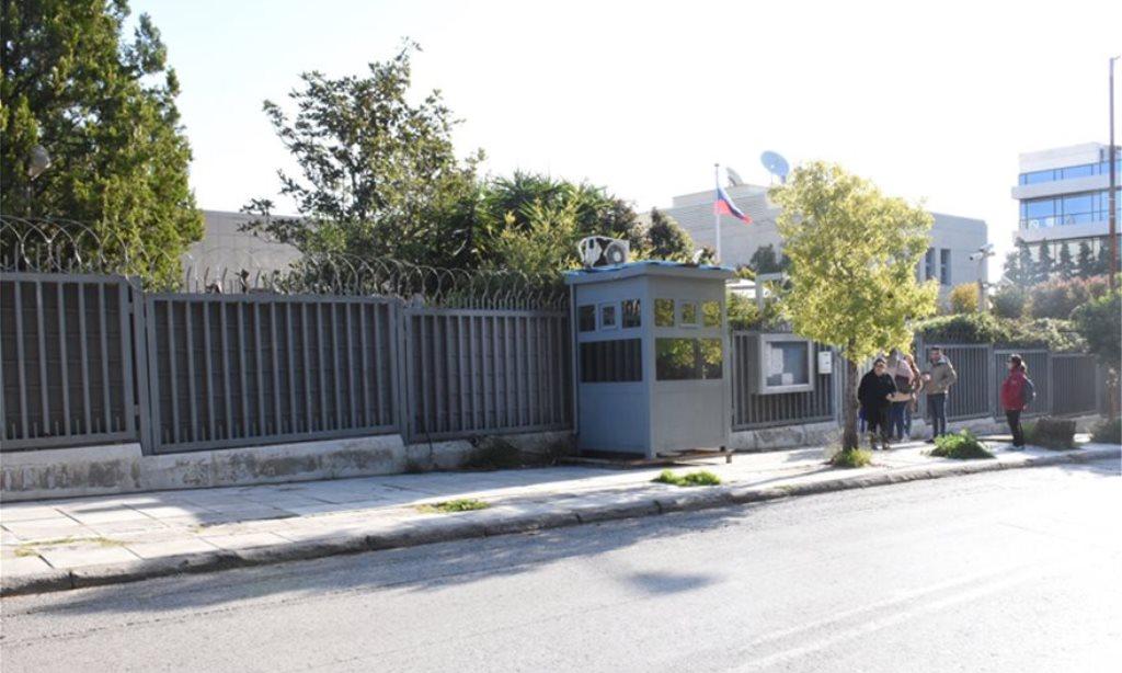 Ρωσικό προξενείο: Άγνωστοι πέταξαν χειροβομβίδα (vid)