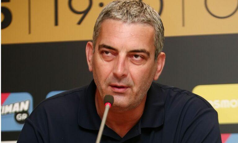 Βράνκοβιτς: «O Ζαγκλής θέλει να είναι πολύ ενεργός και να συμμετέχει στα πάντα»
