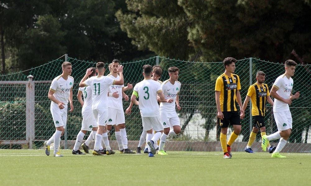 Κ19 ΑΕΚ – Παναθηναϊκός 0-6: «Πράσινος» θρίαμβος