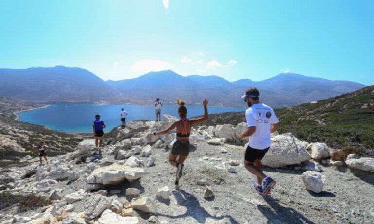 Αμοργός: Τον Μάιο διεξάγεται το Amorgos Trail Challenge
